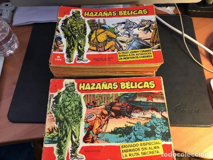 Tebeos: HAZAÑAS BELICAS SERIE ROJA EXTRA LOTE 69 EJEMPLARES (ED. TORAY ORIGINAL) (B1) - Foto 2 - 83427872