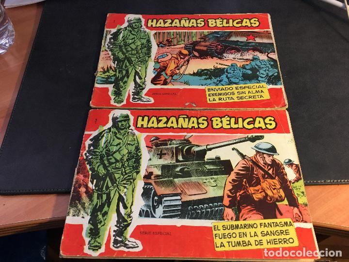 Tebeos: HAZAÑAS BELICAS SERIE ROJA EXTRA LOTE 69 EJEMPLARES (ED. TORAY ORIGINAL) (B1) - Foto 3 - 83427872