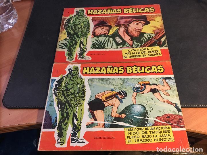 Tebeos: HAZAÑAS BELICAS SERIE ROJA EXTRA LOTE 69 EJEMPLARES (ED. TORAY ORIGINAL) (B1) - Foto 4 - 83427872