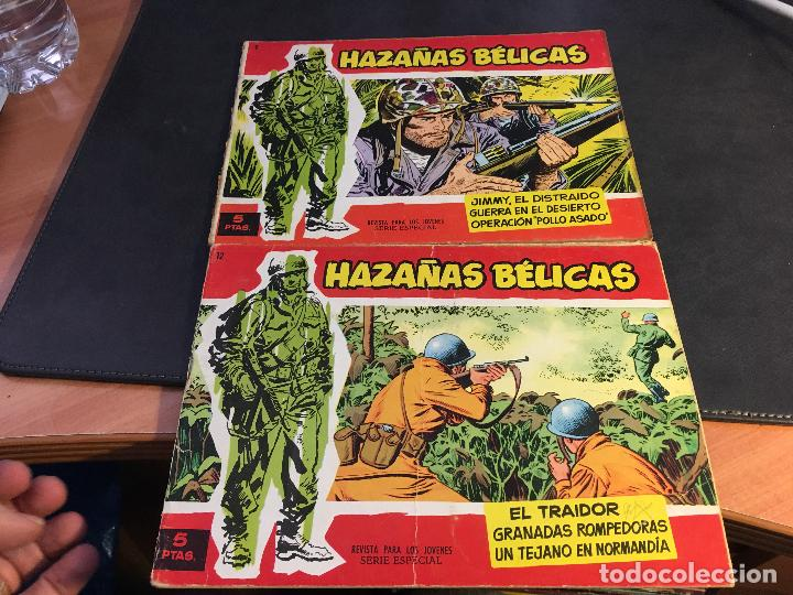Tebeos: HAZAÑAS BELICAS SERIE ROJA EXTRA LOTE 69 EJEMPLARES (ED. TORAY ORIGINAL) (B1) - Foto 6 - 83427872