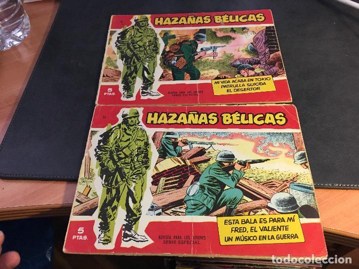Tebeos: HAZAÑAS BELICAS SERIE ROJA EXTRA LOTE 69 EJEMPLARES (ED. TORAY ORIGINAL) (B1) - Foto 7 - 83427872