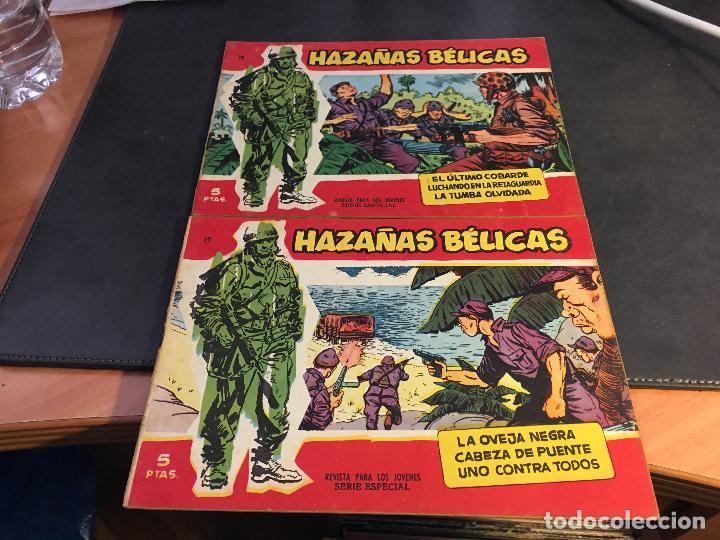 Tebeos: HAZAÑAS BELICAS SERIE ROJA EXTRA LOTE 69 EJEMPLARES (ED. TORAY ORIGINAL) (B1) - Foto 9 - 83427872
