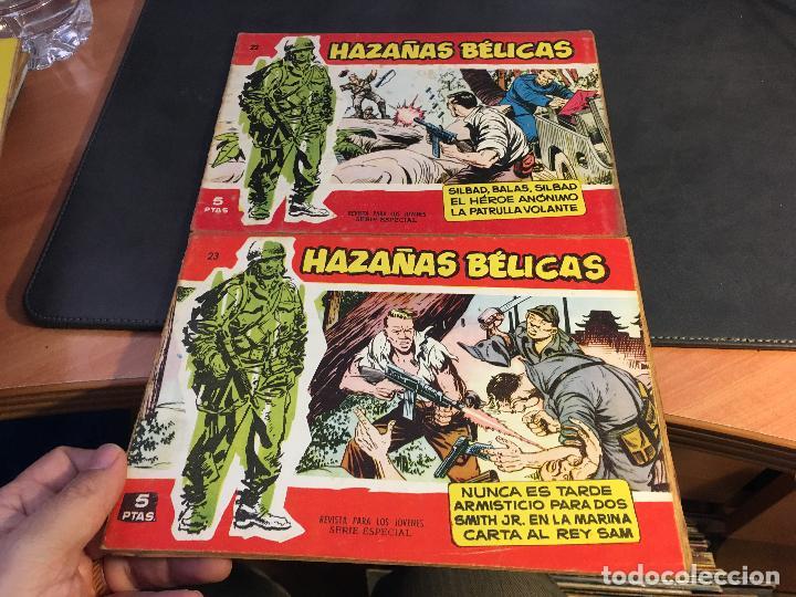 Tebeos: HAZAÑAS BELICAS SERIE ROJA EXTRA LOTE 69 EJEMPLARES (ED. TORAY ORIGINAL) (B1) - Foto 11 - 83427872