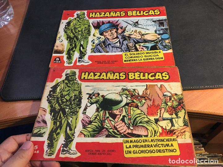 Tebeos: HAZAÑAS BELICAS SERIE ROJA EXTRA LOTE 69 EJEMPLARES (ED. TORAY ORIGINAL) (B1) - Foto 12 - 83427872