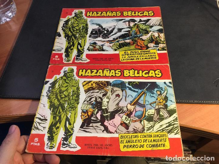 Tebeos: HAZAÑAS BELICAS SERIE ROJA EXTRA LOTE 69 EJEMPLARES (ED. TORAY ORIGINAL) (B1) - Foto 14 - 83427872