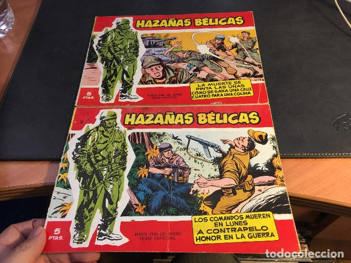 Tebeos: HAZAÑAS BELICAS SERIE ROJA EXTRA LOTE 69 EJEMPLARES (ED. TORAY ORIGINAL) (B1) - Foto 16 - 83427872