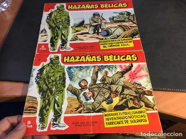 Tebeos: HAZAÑAS BELICAS SERIE ROJA EXTRA LOTE 69 EJEMPLARES (ED. TORAY ORIGINAL) (B1) - Foto 17 - 83427872