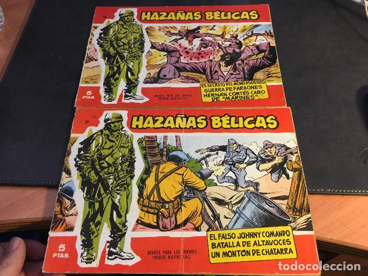 Tebeos: HAZAÑAS BELICAS SERIE ROJA EXTRA LOTE 69 EJEMPLARES (ED. TORAY ORIGINAL) (B1) - Foto 18 - 83427872