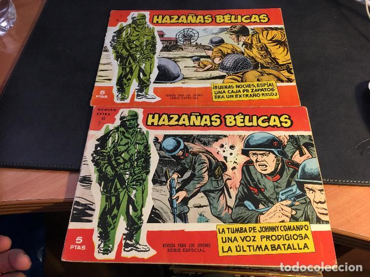 Tebeos: HAZAÑAS BELICAS SERIE ROJA EXTRA LOTE 69 EJEMPLARES (ED. TORAY ORIGINAL) (B1) - Foto 19 - 83427872