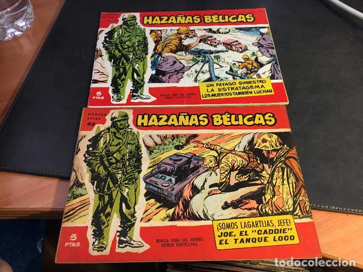 Tebeos: HAZAÑAS BELICAS SERIE ROJA EXTRA LOTE 69 EJEMPLARES (ED. TORAY ORIGINAL) (B1) - Foto 21 - 83427872