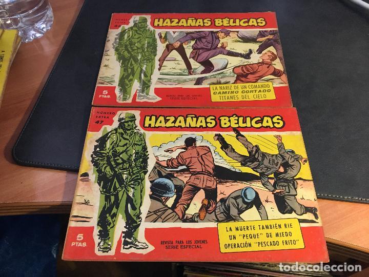 Tebeos: HAZAÑAS BELICAS SERIE ROJA EXTRA LOTE 69 EJEMPLARES (ED. TORAY ORIGINAL) (B1) - Foto 22 - 83427872