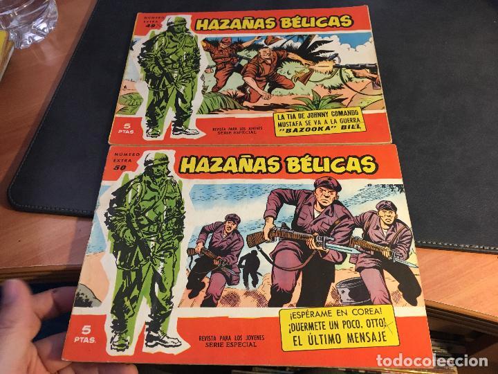 Tebeos: HAZAÑAS BELICAS SERIE ROJA EXTRA LOTE 69 EJEMPLARES (ED. TORAY ORIGINAL) (B1) - Foto 23 - 83427872