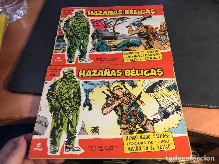 Tebeos: HAZAÑAS BELICAS SERIE ROJA EXTRA LOTE 69 EJEMPLARES (ED. TORAY ORIGINAL) (B1) - Foto 24 - 83427872