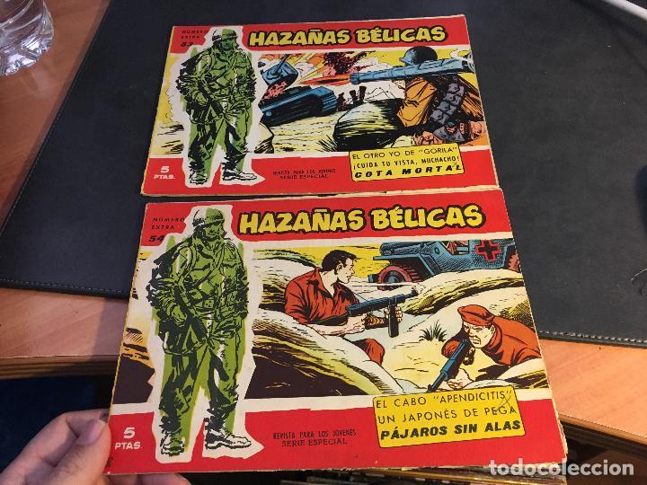 Tebeos: HAZAÑAS BELICAS SERIE ROJA EXTRA LOTE 69 EJEMPLARES (ED. TORAY ORIGINAL) (B1) - Foto 25 - 83427872