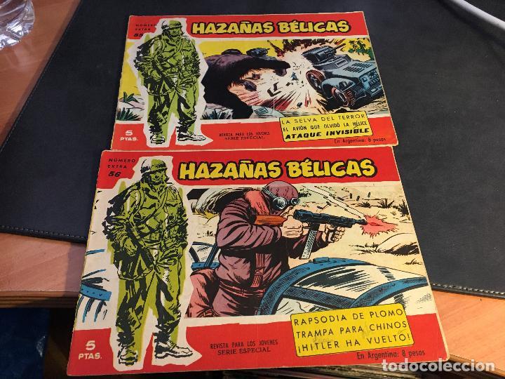 Tebeos: HAZAÑAS BELICAS SERIE ROJA EXTRA LOTE 69 EJEMPLARES (ED. TORAY ORIGINAL) (B1) - Foto 26 - 83427872