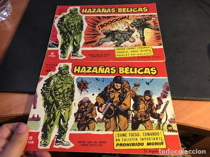 Tebeos: HAZAÑAS BELICAS SERIE ROJA EXTRA LOTE 69 EJEMPLARES (ED. TORAY ORIGINAL) (B1) - Foto 27 - 83427872