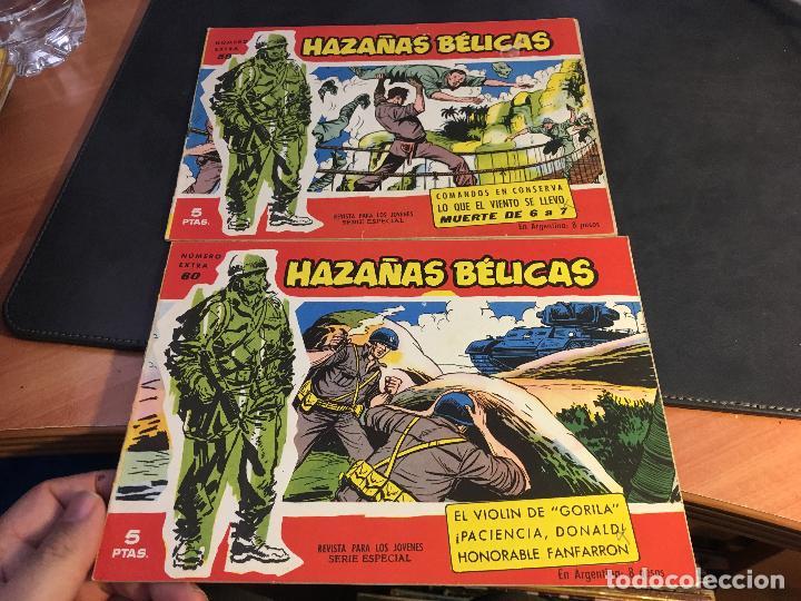 Tebeos: HAZAÑAS BELICAS SERIE ROJA EXTRA LOTE 69 EJEMPLARES (ED. TORAY ORIGINAL) (B1) - Foto 28 - 83427872