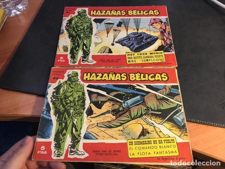 Tebeos: HAZAÑAS BELICAS SERIE ROJA EXTRA LOTE 69 EJEMPLARES (ED. TORAY ORIGINAL) (B1) - Foto 29 - 83427872