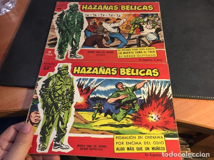 Tebeos: HAZAÑAS BELICAS SERIE ROJA EXTRA LOTE 69 EJEMPLARES (ED. TORAY ORIGINAL) (B1) - Foto 30 - 83427872