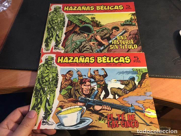 Tebeos: HAZAÑAS BELICAS SERIE ROJA EXTRA LOTE 69 EJEMPLARES (ED. TORAY ORIGINAL) (B1) - Foto 32 - 83427872