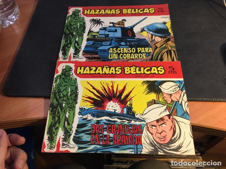 Tebeos: HAZAÑAS BELICAS SERIE ROJA EXTRA LOTE 69 EJEMPLARES (ED. TORAY ORIGINAL) (B1) - Foto 33 - 83427872