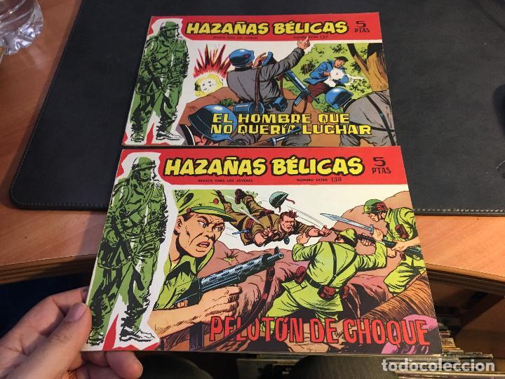 Tebeos: HAZAÑAS BELICAS SERIE ROJA EXTRA LOTE 69 EJEMPLARES (ED. TORAY ORIGINAL) (B1) - Foto 35 - 83427872