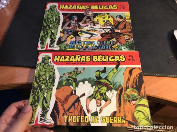 Tebeos: HAZAÑAS BELICAS SERIE ROJA EXTRA LOTE 69 EJEMPLARES (ED. TORAY ORIGINAL) (B1) - Foto 36 - 83427872