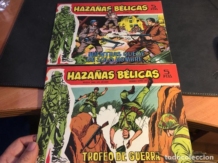 Tebeos: HAZAÑAS BELICAS SERIE ROJA EXTRA LOTE 69 EJEMPLARES (ED. TORAY ORIGINAL) (B1) - Foto 37 - 83427872
