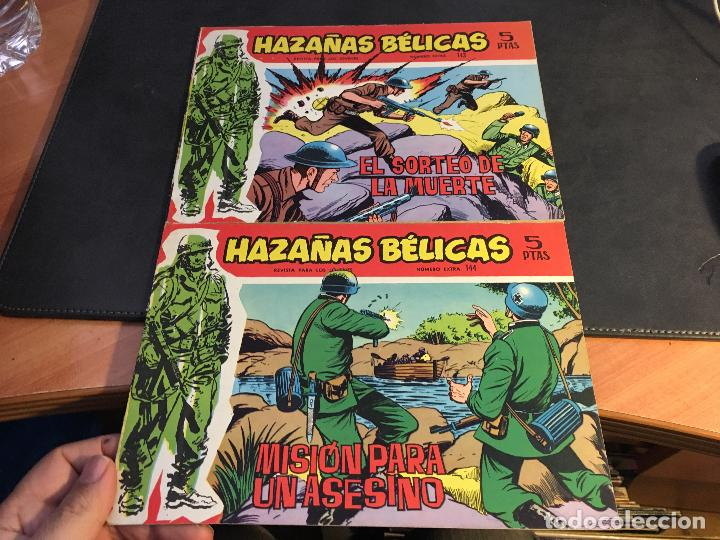 Tebeos: HAZAÑAS BELICAS SERIE ROJA EXTRA LOTE 69 EJEMPLARES (ED. TORAY ORIGINAL) (B1) - Foto 38 - 83427872