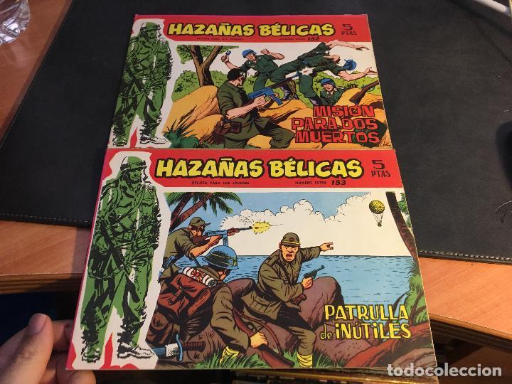 Tebeos: HAZAÑAS BELICAS SERIE ROJA EXTRA LOTE 69 EJEMPLARES (ED. TORAY ORIGINAL) (B1) - Foto 40 - 83427872