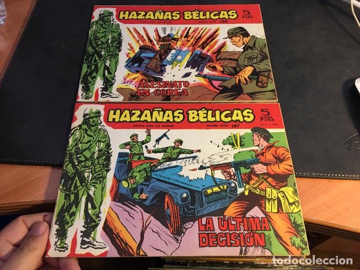 Tebeos: HAZAÑAS BELICAS SERIE ROJA EXTRA LOTE 69 EJEMPLARES (ED. TORAY ORIGINAL) (B1) - Foto 42 - 83427872
