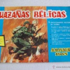 Tebeos: HAZAÑAS BELICAS / ALMANAQUE PARA 1965. Lote 83591232