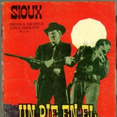 Tebeos: SIOUX Nº 52 EDI. TORAY 1966- FOTO DE JULIETTE GRECO. Lote 83687756
