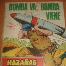 Tebeos: HAZAÑAS BELICAS. BOMBA VA, BOMBA VIENE. Nº 314. EUGENIO SOTILLOS. ALAN DOYER. EDICIONES TORAY.. Lote 83740300