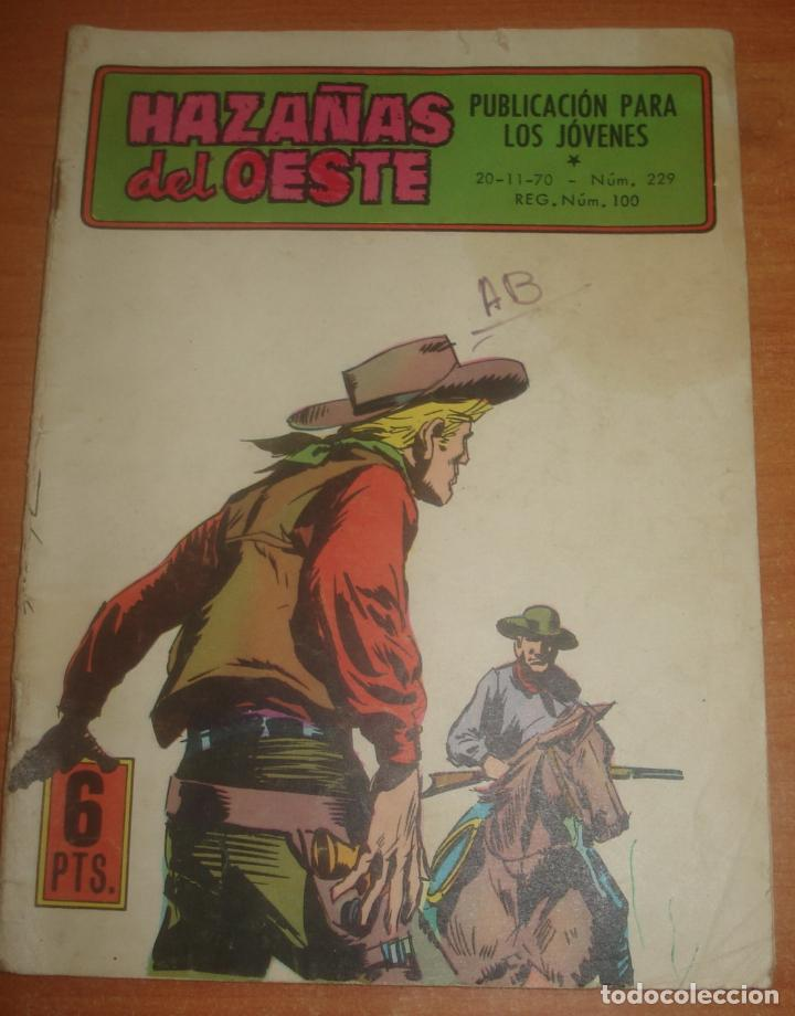 HAZAÑAS DEL OESTE. Nº 229. EL AZOTE DE MONTANA. EDICIONES TORAY. (Tebeos y Comics - Toray - Hazañas del Oeste)