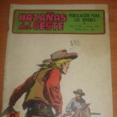 Tebeos: HAZAÑAS DEL OESTE. Nº 229. EL AZOTE DE MONTANA. EDICIONES TORAY.. Lote 83741608