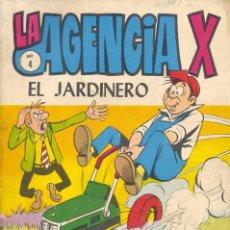 Tebeos: LA AGENCIA X Nº4. ÚLTIMO NÚMERO. B. BARCÍA Y ALAN DOYER, EL DIBUJANTE DE GORILA. TORAY, 1971. Lote 83852148