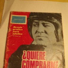 Tebeos: ESPIONAJE ED. TORAY Nº 16 ¿ QUIERE COMPRARME UN SECRETO ?. Lote 84283244