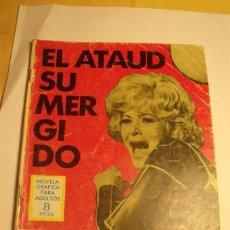 Tebeos: ESPIONAJE ED. TORAY Nº 39 EL ATAUD SUMERGIDO. Lote 84283252