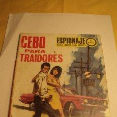 Tebeos: ESPIONAJE ED. TORAY Nº 69 CEBO PARA TRAIDORES. Lote 84283256