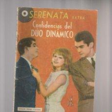 Tebeos: LOTE DE 10 SERENATA EXTRA CONFIDENCIA DEL DUO DINAMICO MAS 1 ALMANAQUE 1965. Lote 84489772