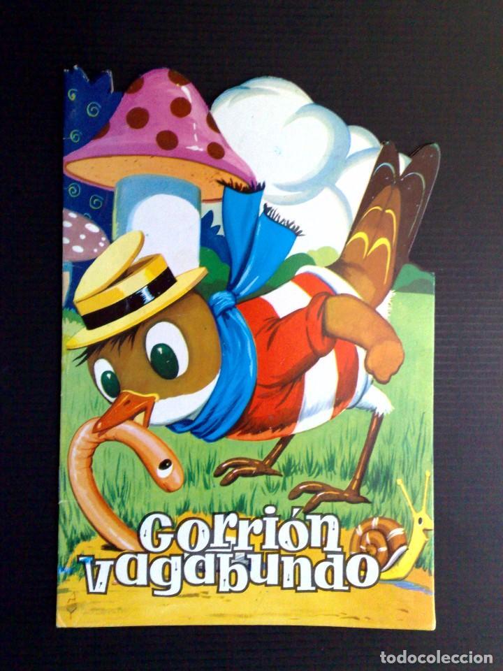 CUENTO INFANTIL TROQUELADO ANTIGUO-GORRION VAGABUNDO-EDICIONES TORAY-SERIE A (Tebeos y Comics - Toray - Otros)