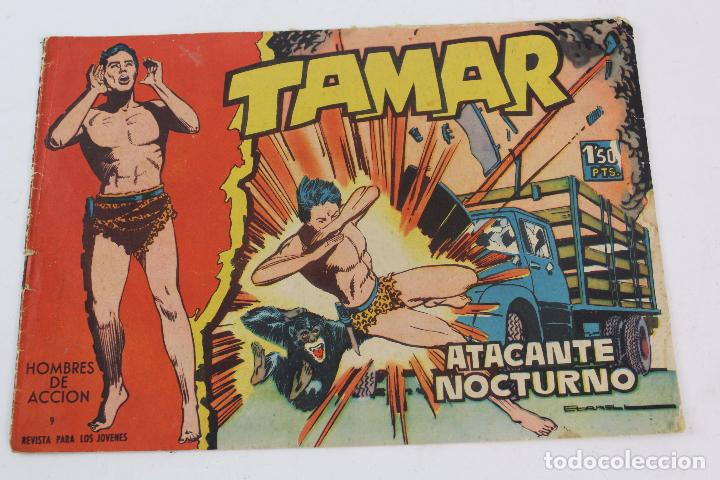 Tebeos: COM-168. LOTE DE 3 COMICS TAMAR. Nº 9, 64 Y 79. - Foto 2 - 85513528