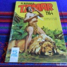 Tebeos: ALMANAQUE TAMAR 1964 ORIGINAL. HOMBRES DE ACCIÓN. TORAY 5 PTS. BUEN ESTADO.. Lote 85992040