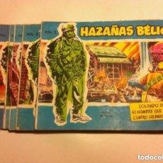 Tebeos: HAZAÑAS BÉLICAS -EXTRA AZUL -LOTE DE 6. Lote 86175664