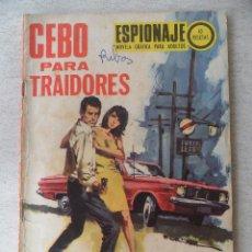 Tebeos: ESPIONAJE Nº 69 - TORAY. Lote 90247543