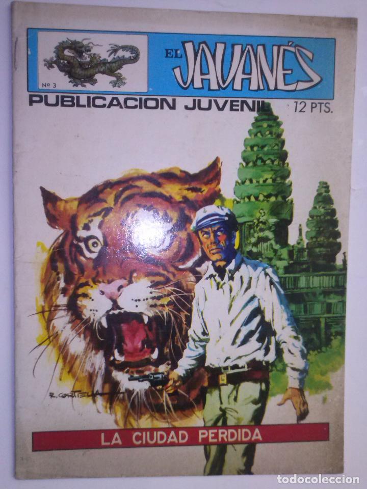 EL JAVANÉS- Nº 3 -´LA CIUDAD PERDIDA- 1971- LA GRAN OBRA DE A. CARRILLO-RARO Y ESCASO-BUENO-2204 (Tebeos y Comics - Toray - Otros)