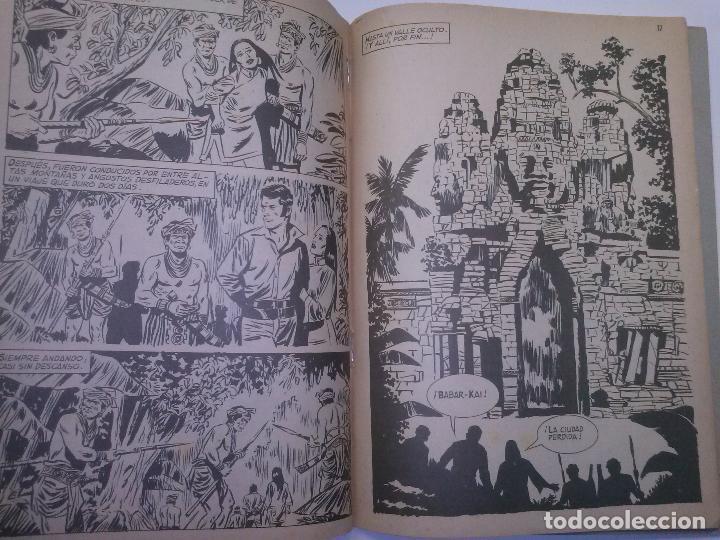 Tebeos: EL JAVANÉS- Nº 3 -´LA CIUDAD PERDIDA- 1971- LA GRAN OBRA DE A. CARRILLO-RARO Y ESCASO-BUENO-2204 - Foto 3 - 180210398