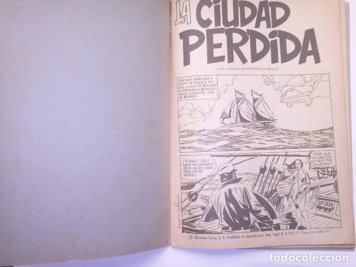 Tebeos: EL JAVANÉS- Nº 3 -´LA CIUDAD PERDIDA- 1971- LA GRAN OBRA DE A. CARRILLO-RARO Y ESCASO-BUENO-2204 - Foto 4 - 180210398