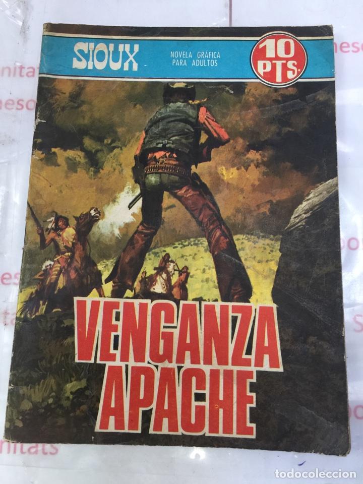 SIOUX VENGANZA APACHE NOVELA GRAFICA PARA ADULTOS EDICIONES TORAY (Tebeos y Comics - Toray - Sioux)